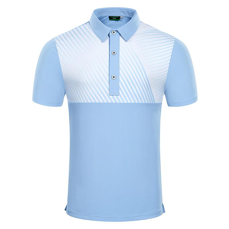 Golf T-Shirts Custom Designs OEM/ODM Printing Polo shirt Polyester Spandex Blend Best Selling 2021