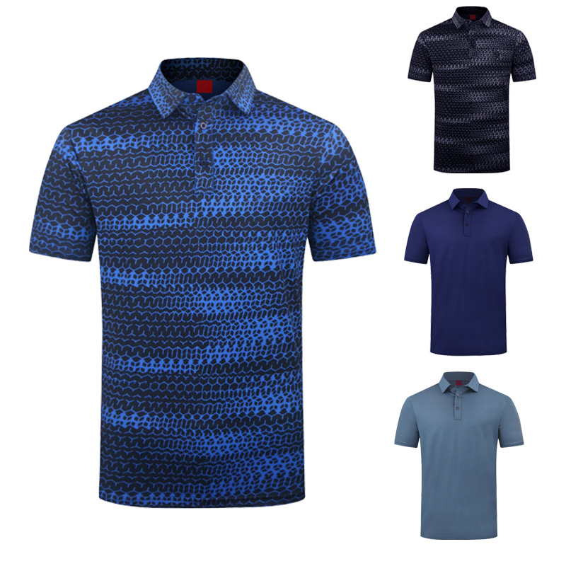 Polo tshirts  2021 Collection Polo Spandex Sublimation Golf Shirt Custom T shirts Made in China