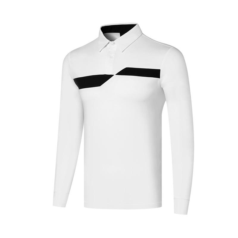 T-shirt polo da golf a maniche lunghe casual da uomo caldo 2021 Amazon