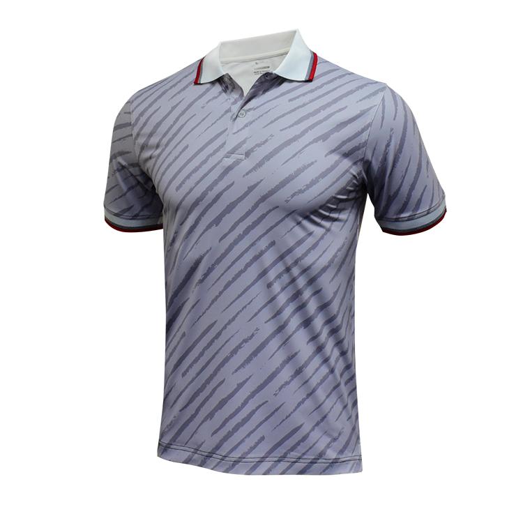 Polo shirt custom men's golf clothing wholesale China OEM factory