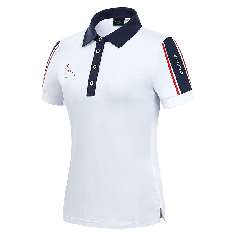 customized logo quick dry embroidery golf women shirts