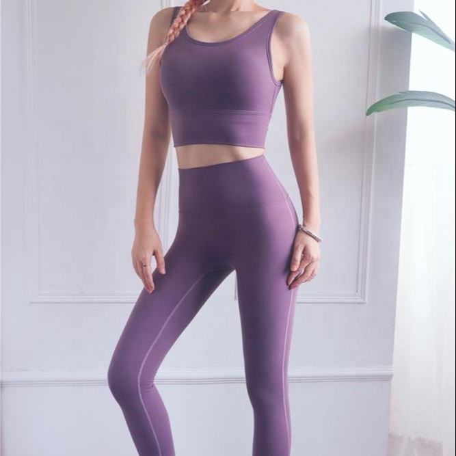 Women Sports Fitness Tights Leggings Activewear Yoga Set Clothes