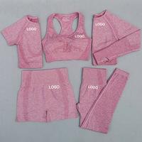 seamless yoga set workout sport wear gym clothing OEM