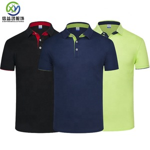 Custom design your own brand men's Golf clothes Polo t-shirt manufacturer