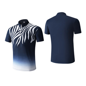 Custom Summer Quick Dry blue Outdoor golf Polo T shirt for men in China