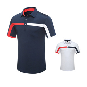 China factory direct polo shirt and golf clothes with logo wholesale custom