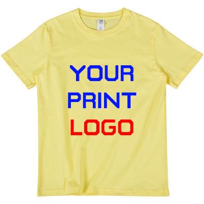Custom 100% Cotton Printed T-Shirt For Men